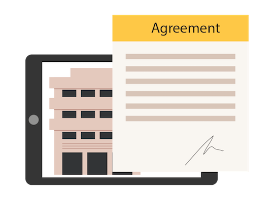 estate agreement form